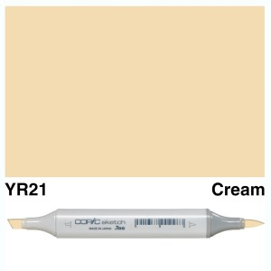 Copic Sketch YR21-Cream