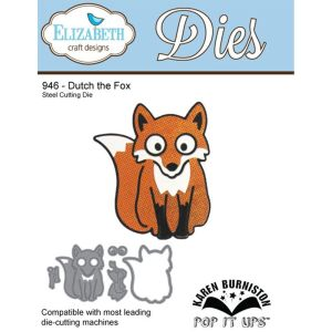 Elizabeth Craft Designs – Karen Burniston – Pop it Ups Metal Dies – Dutch the Fox