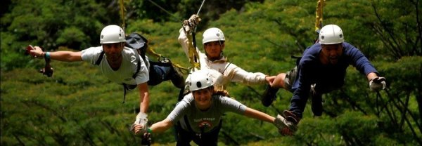 Zipline inka jungle trail peru