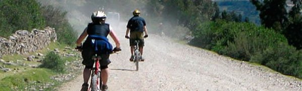 biking inka jungle trail trekking