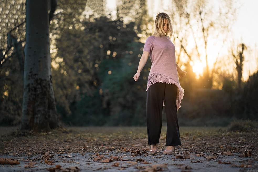 vestito maglia lunga rosa maniche corte donna giovane pura lana alpaca primavera estate 2019
