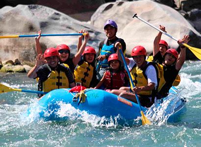 Canotaje en cusco, en el Rio Vilcanota – Chuiquicahuana 1 día