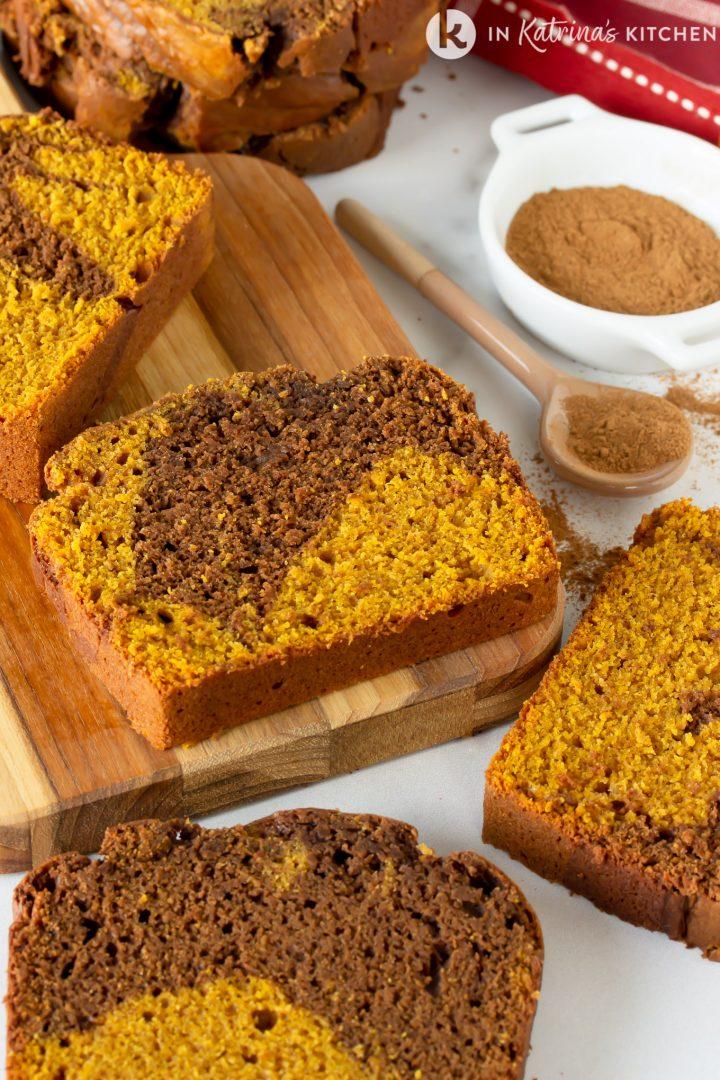 11. Chocolate Pumpkin Swirl Bread
