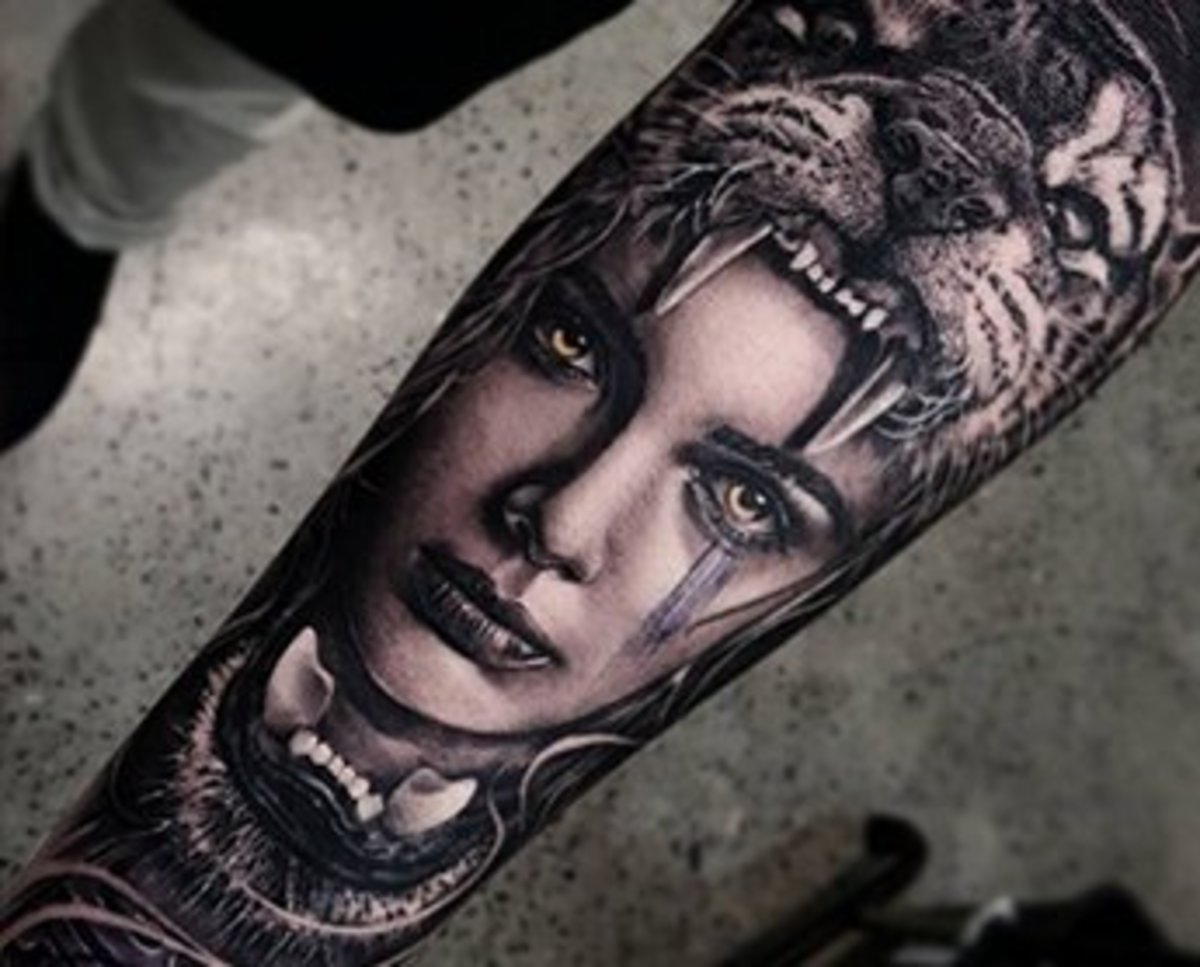 10 Pictures Of Black And Gray Tattoos Transformed With
