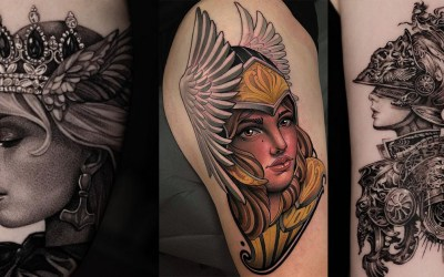 75 Legendary Valkyrie Tattoos – Tattoo Concepts, Artists and Fashions