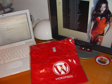 camiseta WordPress
