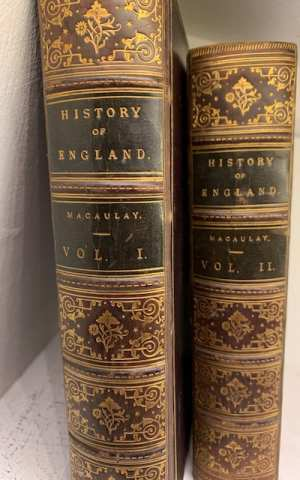 A History of England from the Accession of James the Second (in 2 volumes)