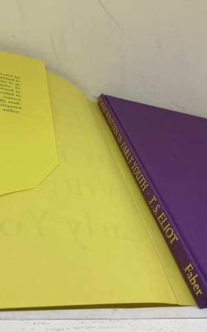 Poems Written in Early Youth