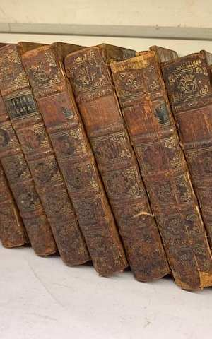 The British Theatre in Ten Volumes (missing vol. IX)