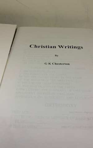 Chesterton's Christian Writings
