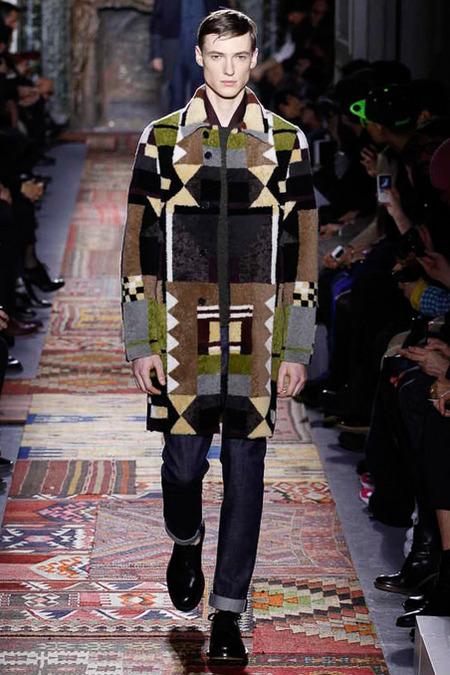Valentino Menswear A/W 2014 (Photo: Yannis Vlamos / InDigitial / GoRunway)