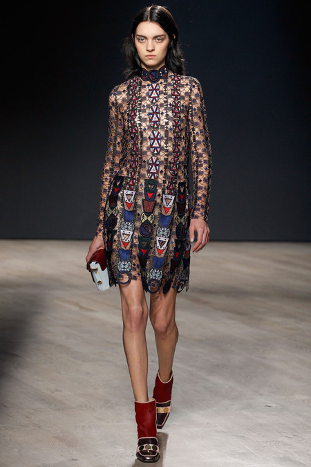 Mary Katrantzou A/W 2014 Women's RTW (Photo: Marcus Tondo / InDigital / GoRuway)