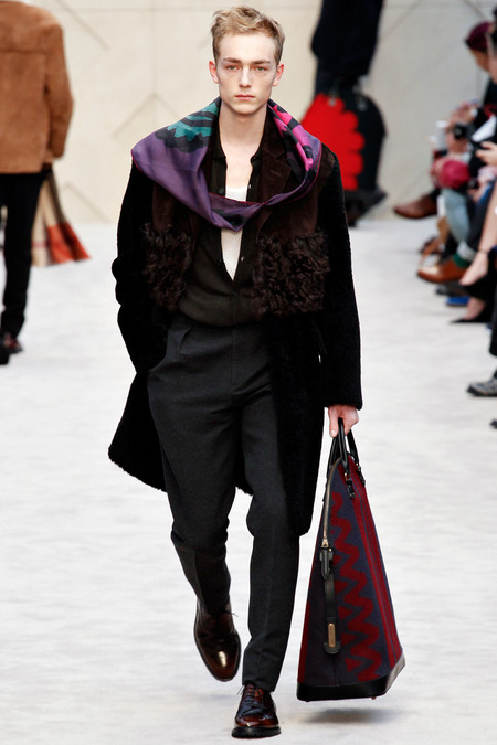 Burberry A/W 2014 Menswear (Photo: Marcus Tondo / InDigital / GoRunway)