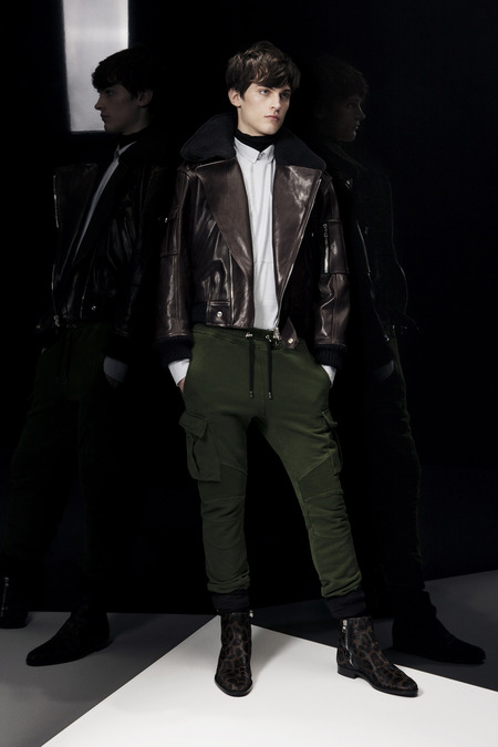 Balmain A/W 2014 Menswear (Photo: Courtesy of Balmain)