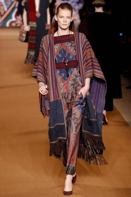 Etro A/W 2014 Women's RTW (Photo: Marcus Tondo / InDigital / GoRunway)