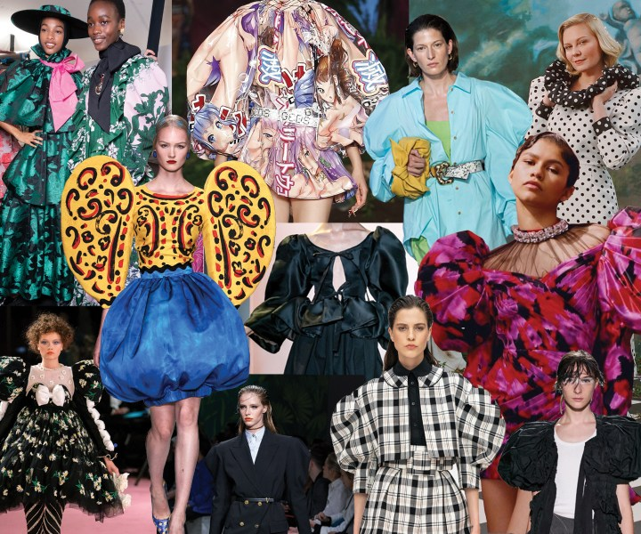 "Across runways in New York, London, Milan, and Paris, there was one trend quite literally sticking out in womenswear: Puffy sleeves. Back in full force for Spring/Summer 2020, this sleeve could be the reason the ""cold-shoulder"" trend slowly makes its way out after a rise to mass acceptance over the past 5 years. Say goodbye to your cold-shoulder and make room for a bold shoulder!"