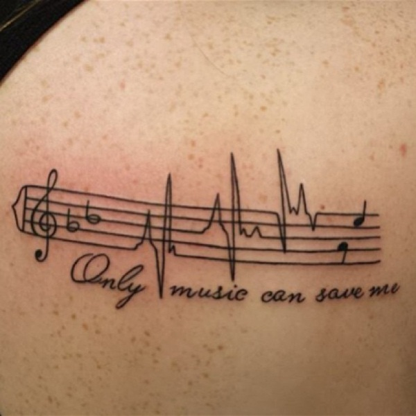 145 Rockin Music Tattoos That Will Have You Singing