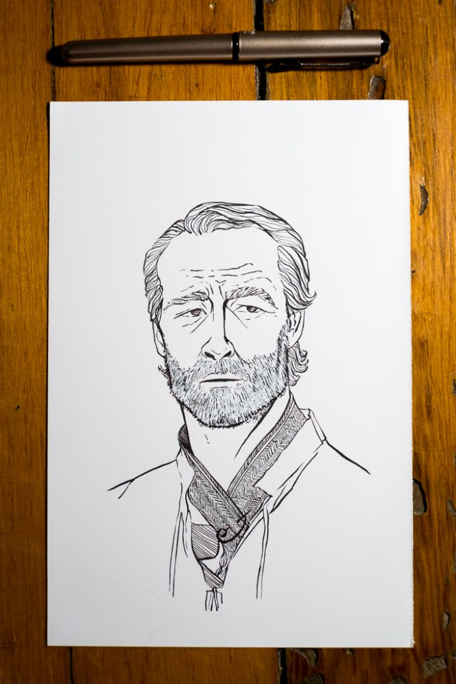 Game of Thrones - Inktober - Jorah Mormont