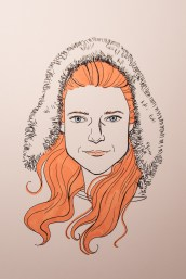Game of Thrones - Inktober - Ygritte