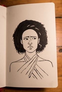 Game of Thrones - Inktober - Missandei