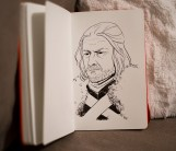 Game of Thrones - Inktober - Eddard Stark
