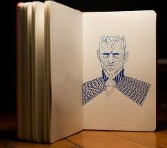 Game of Thrones - Inktober - Night king