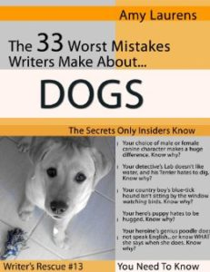 The 33 Worst Mistakes Writers Make About Dogs