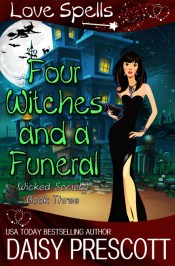 Four Witches and a Funeral cover