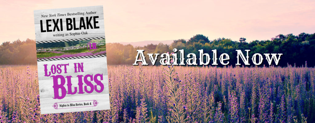 Lost In Bliss by Lexi Blake: Review and Excerpt