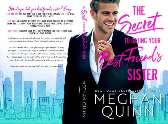 COVER REVEAL: MEGHAN QUINN ✭ THE SECRET TO DATING YOUR BEST