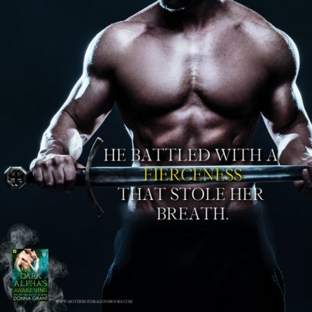 He battled with a fierceness that stole her breath.