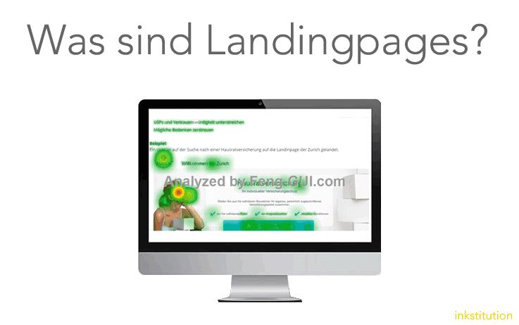 Was genau sind Landingpages?