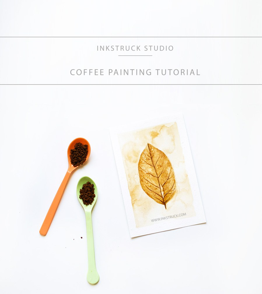 Coffee painting tutorial inkstruck studio for Painting with coffee
