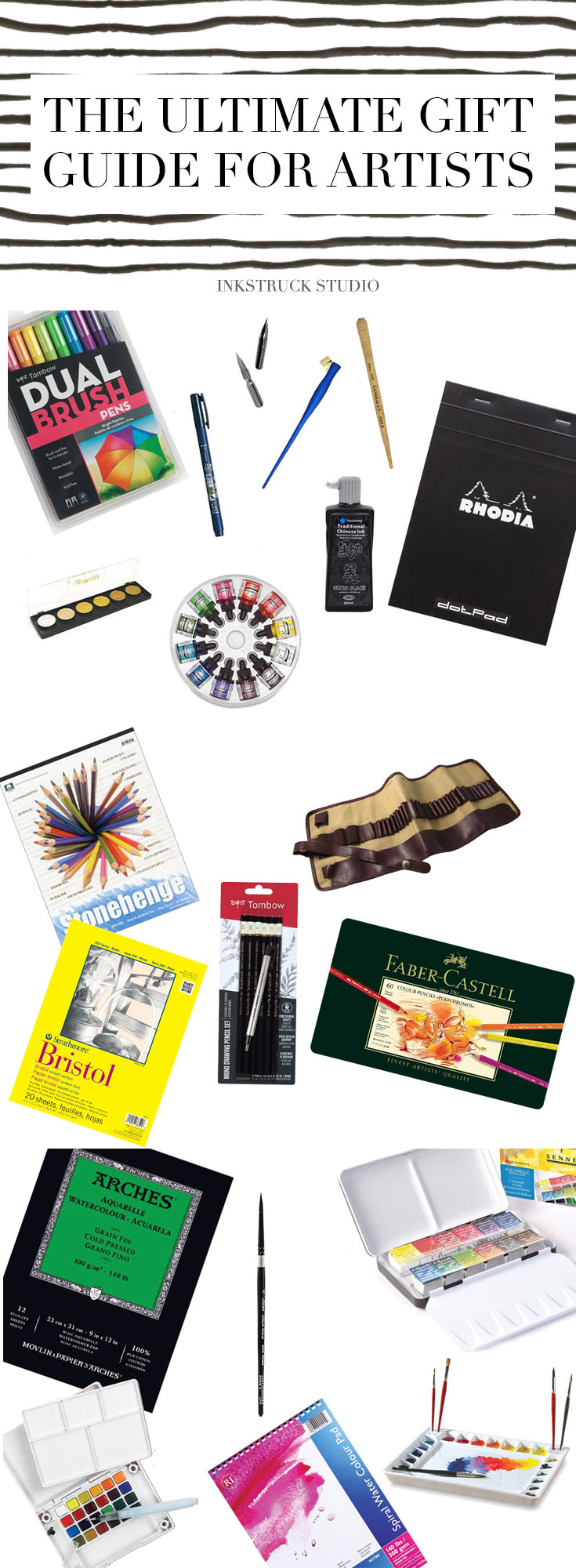 gift ideas for artists-inkstruck studio