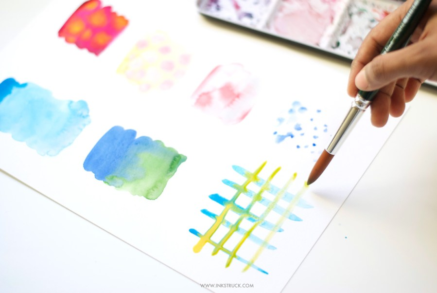 Watercolor Techniques For Beginners Blendingzakkiya Hamza Of Inkstruck Studio