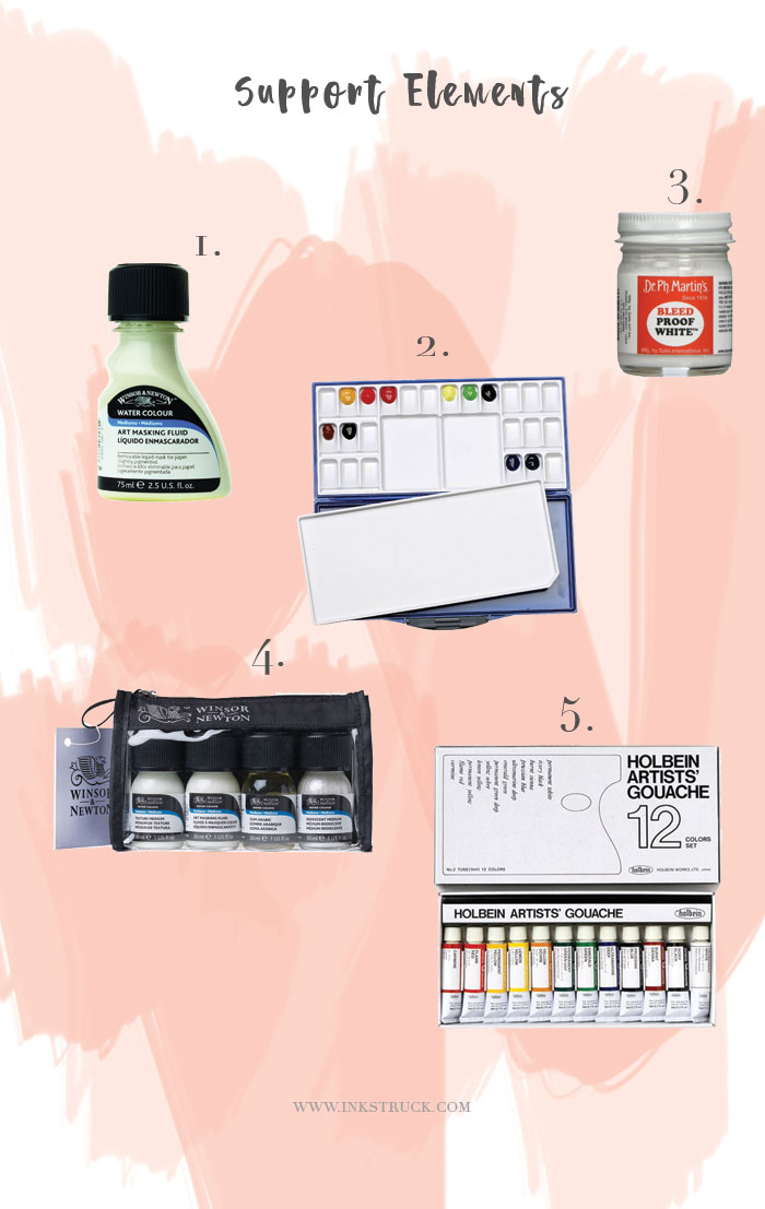 Check out some cool watercolor artist gift ideas over at the blog now | Inkstruck Studio