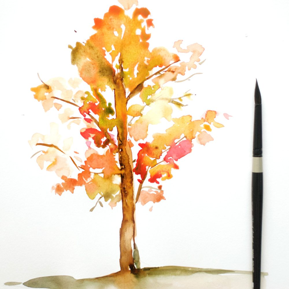 How To Paint Leaves On Trees In Oil
