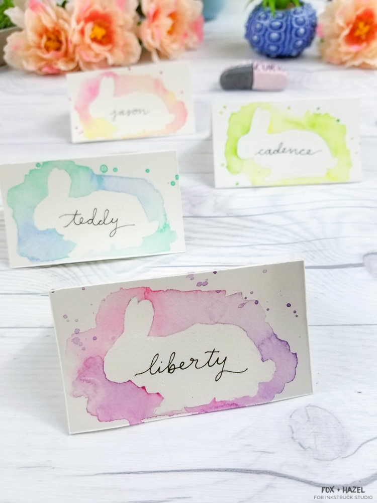 DIY Watercolor Easter Place Cards-29
