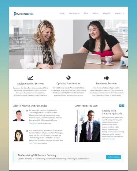 Download this premium psd file about human resource and job search website template in dark mode, and discover more than 17 million professional graphic. 4 Hr Website Templates For WordPress Inkthemes