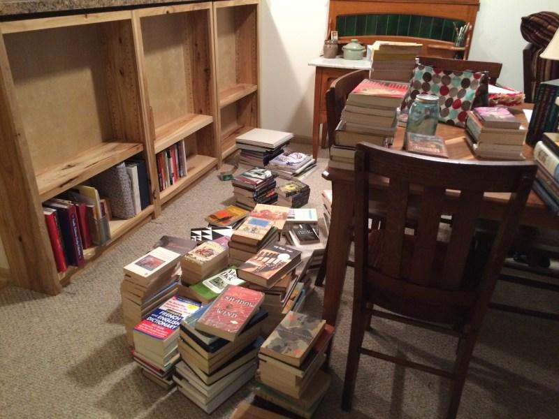 Bookshelves | Inkwells & Images