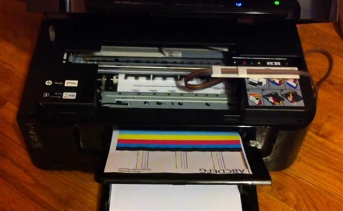 Continuous Ink Supply System Ciss For Hp Officejet 6500