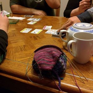 Knitting and Fluxx
