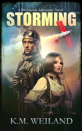 Storming: A Dieselpunk Adventure Book Cover