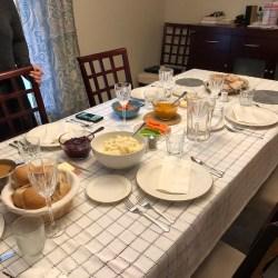 Thanksgiving dinner 2019