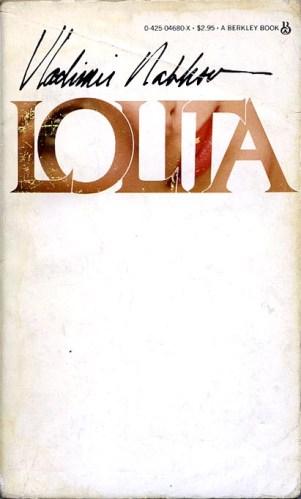 Book cover: Lolita by Vladimir Nabokov