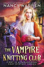 Book Cover: The Vampire Knitting Club.