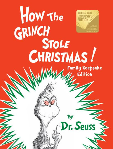 Book Cover: How the Grinch Stole Christmas by Dr. Seuss