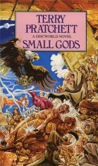 Book cover for Small Gods by Terry Pratchett
