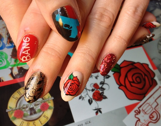 30 Flower Nail Art Designs For Inspiration With Tutorial