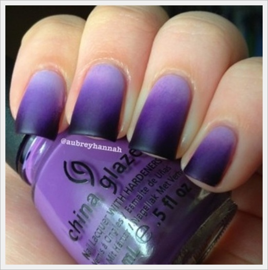 First Thing To Do Get Started On This Is Apply The Lighter Color Your Nails Two Coats If You Feel It Required